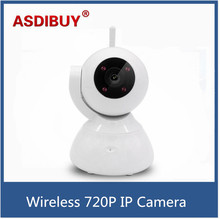 HD IP Camera Wireless 720P IP Security Camera WiFi IP Security Camera Baby Monitor Security Camera Easy setup with motion detect(China)