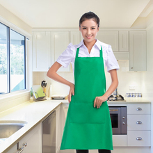 Eight Colours Cooking Baking Aprons Kitchen Apron Restaurant Aprons For Women Home Sleeveless Apron Sanitary Waterproof Bib