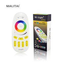 Wireless 2.4G RF Mi light Touch Screen LED Remote Controller 4 - Zone Dimmable RGB CW RGBWW Control For Smart lamp Bulb Strips