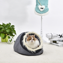 Pawz Road Free Shipping Dog Bed Pet House Lovely Soft Pet Products Dog Kennel Warm Nest For Puppy Removable Washable 4Choices(China)