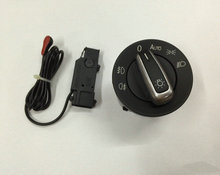 Light Sensor & Auto Euro Headlight Switch Retrofit Kit For VW Volkswagen Golf MK6(Hong Kong)