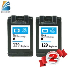 2PK For HP 129 XL ink Compatible For HP Photosmart C4183 4183 5063 5283 D5063 2573 C5283 8053 Printer For HP Photosmart C4100(China)