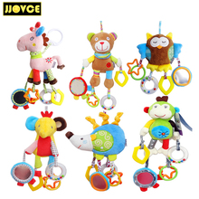 JJOVCE Baby Crib Hanging Toys Infant Newborn Sleep Comforter Dolls Baby Playpen Cot Toy Early Educational Baby Toys 0-12 Months