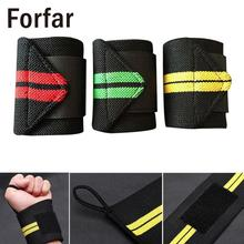 Forfar New Lifting Training Wrist Wraps Bandage Hand Strap Sporting Goods Protector(China)