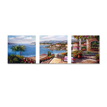 Mediterranean scenery Diy 5D Diamond Painting Cross Stitch Full Diamond Embroidery Home Decor Square Drill Best christmas Gift