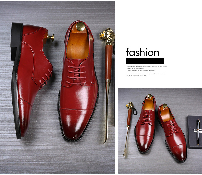 Mens Casual Shoes' Moccasin Men's Oxfords Shoes Men Winter Classic Party Wedding Men Casual Shoes Flats Formal Shoe Business New (5)