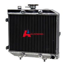 ATV Replacement Parts 40MM RADIATOR FOR HONDA TRX500 TRX500FA FourTrax Rubicon/GPScape 500 01-04 02 03 Motorcycle Cooling Parts