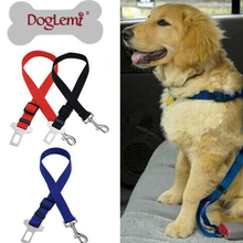 Puppy Dog Cat Safety Seat Belt Dog Collars Leads Christmas Gift For Teddy Pets Harness 3 Colors Available Goods Mascotas