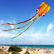 3D 4M Octopus Kite Single Line Stunt /Software Power Sport Flying Kite Outdoor Easy To Fly Kids Fun Toys Gifts(China)
