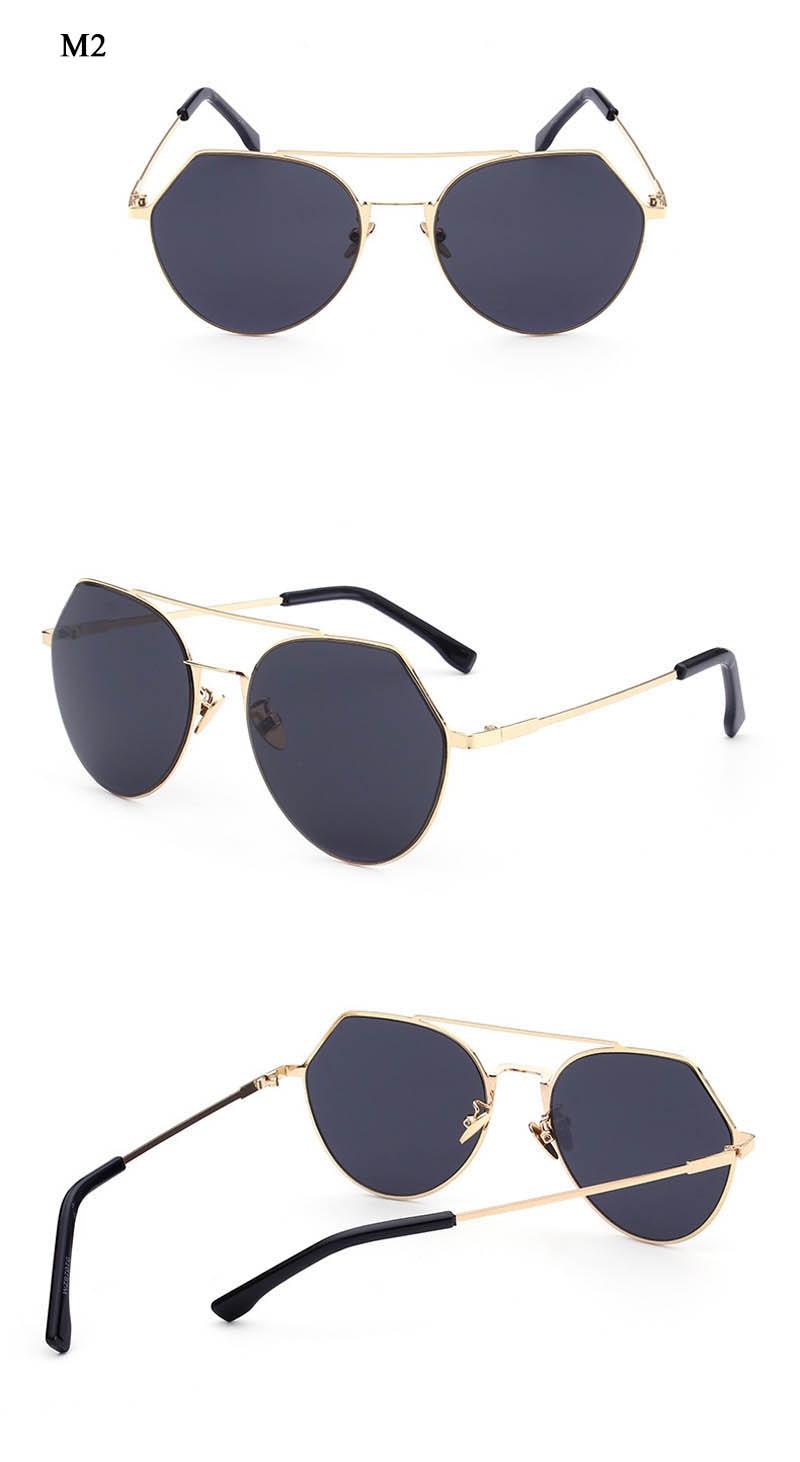 Korto Clear Shades for Female Ladies Oversized Sun Glasses Brand New Design Octagon Men Sunglasses Women Fashion Retro Eyewear
