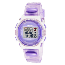2016 Hot Relogio, Candy Colors Kid Children Watches Rubber Digital Led Wristwatch Clock for Girls Kid Sport Student Montre Gift