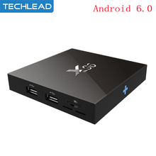 Cheap Quad Core S905x 2GB 16GB Android 6.0 Smart TV Box Networking Media Player TV Receiver HD 4k network Set Top Box OTT Dlan(China)