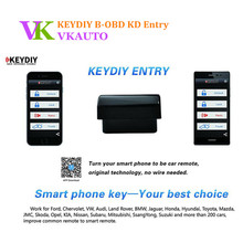 Buy KEYDIY B-OBD KD Entry Smartphones Car Remotes Entry Android iOS Smart Phone Key for $39.99 in AliExpress store