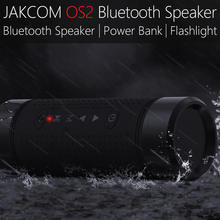 Jakcom OS2 Outdoor Bluetooth Speaker 5200mAh External Battery Pack Portable Subwoofer Bass Speaker LED light Stereo Mini Speaker(China)