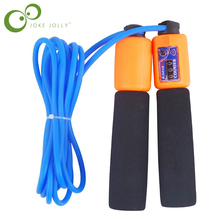 Wholesale and retail precision Counting Rope, Rope length 2.8m PVC material ABS counter PP handle.Gym Fitness Jump Ropes Y39(China)