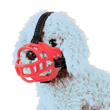 2017  Soft Silicone Strong Dog Muzzle Anti-biting Adjusting Straps Mask Goods  Pets Comtable Muzzles  Dogs Hot