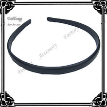 Wholesale black  plastic headband 100pcs/lot free shipping