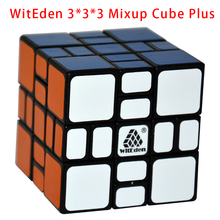 WitEden 3x3x3 Mixup Plus Magic Cube Black Puzzle Body Difficulty 9 of 10 Hot Selling Educational Twisty Puzzle Toy for Children