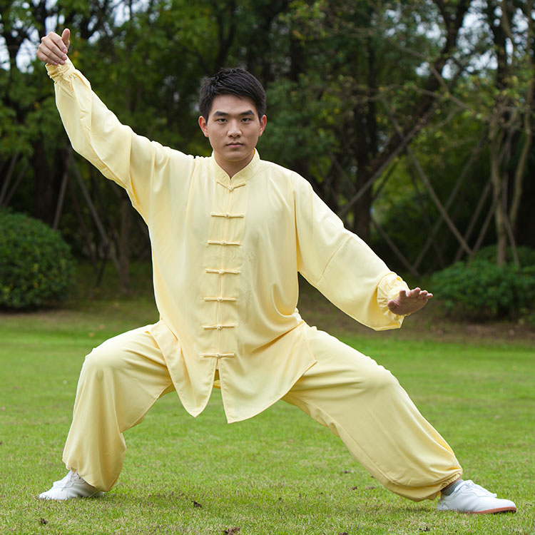 Home Glorious High Quality Summer Kung Fu Uniform Male Wing Chun Tai Chi Short Sleeve Suit Martial Arts Training Clothes