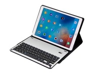 New Fashion Removable Aluminum alloy Bluetooth Keyboard Pu Leather Case Cover for iPad Pro 10.5 Tablet Pc Keyboard