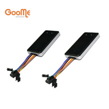 2pcs Wholesale Goome GM06NW GSM GPS Tracker Mini For Cars Motorcycle Micro Locating & Cut Off Oil Power(China)