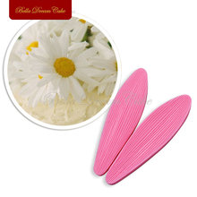 Long Petal 3D Silicone Mold Veiner Sugar Art Tool Sugar Flower Fondant Cake Pull Sugar Pressed Sugar Blowing Molds Kitchen VM005
