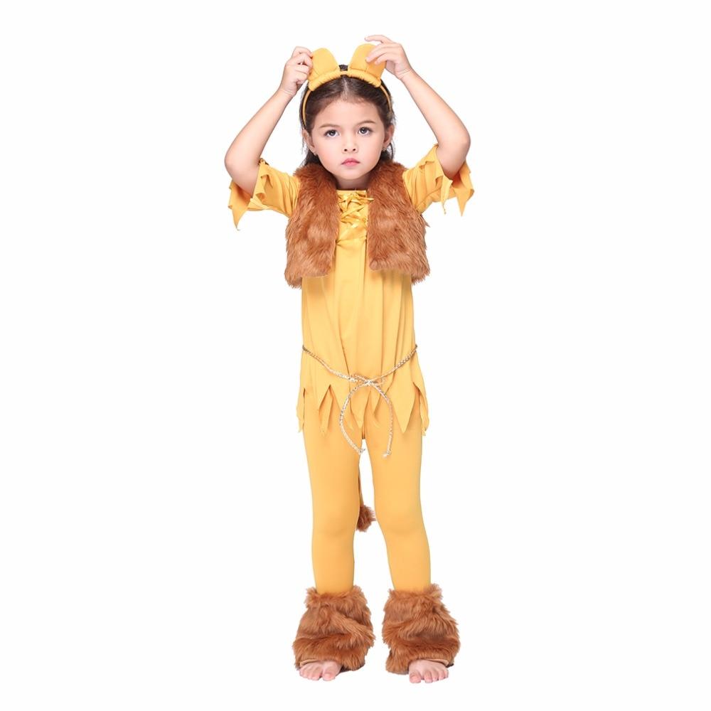 Костюм льва для девочки своими руками 99