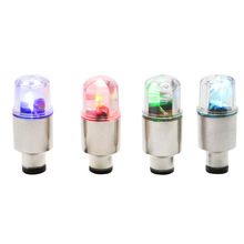2 x Wheel Tire Valve Cap Spoke Neon LED Light Lamp For Bike Bicycle Car Motorcycle
