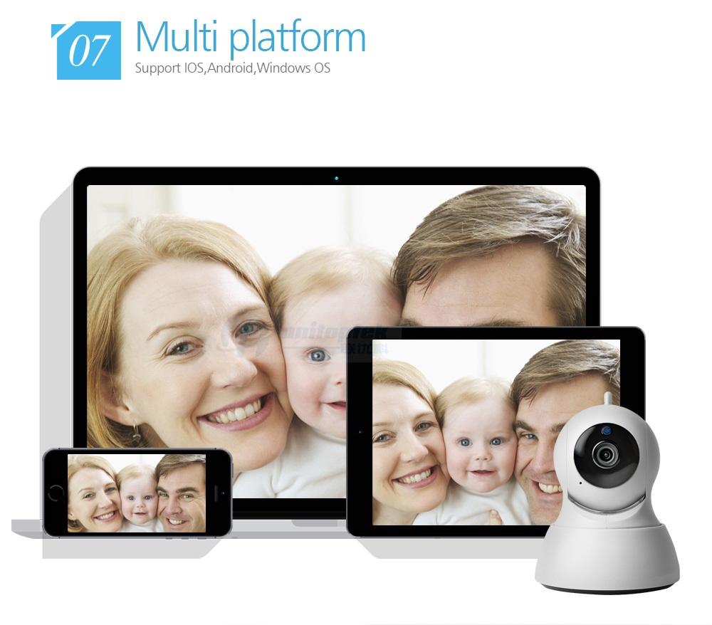 08 Wireless PTZ IP Camera