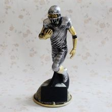 22CM rugby figure Trophy Super Bowl Trophy Rugby Trophy(China)