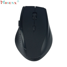 Beautiful Gift New High Quality New 2.4GHz USB Wireless Gaming Game Mouse Mice For PC Laptop MAC Free Shipping Jun7
