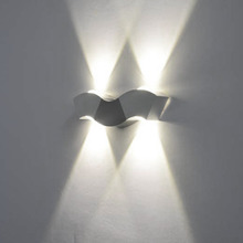 Newest 3W 3LED Sconce Wall Lamp Hotel Hallway Porch Lighting Wall Lamp Up/Down Led Indoor Wall Lamps For Indoor Bedroom