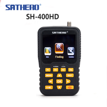 Satellite Finder SATHERO SH-400 DVB-S2 сигнала satfinder vs satlink ws6906 3,5 дюймов ЖК-дисплей Экран 8PSK 16apsk Sathero-400HD(China)