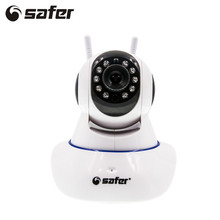 SAFER Home Security Wireless IP Camera Wifi 720P HD CCTV Camera Indoor Surveillance Night Vision CCTV Mini Baby Security Camera
