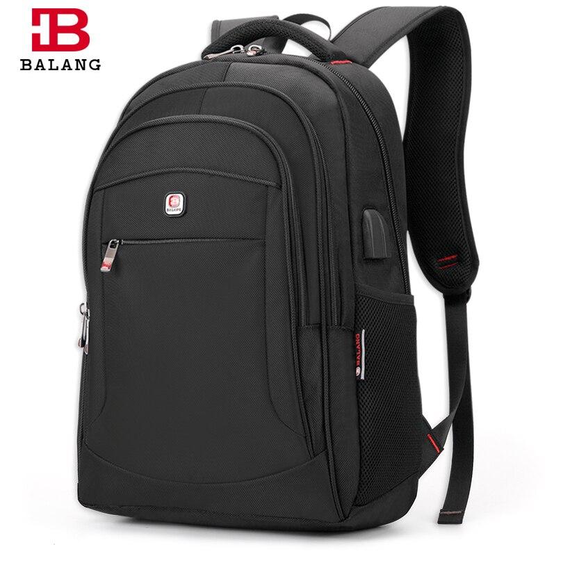 BALANG Brand Designer Mens Business Bakcpacks for 15.6 Laptop Women Travel Luggage School Backpack Shoulder Luggage Bags<br>