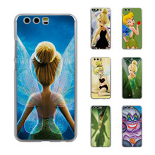 Little Mermaid Ariel Tinkerbell princess Style Thin transparent phone Cover Case for Huawei P10 P10lite P8 P9 lite Mate8 Mate9