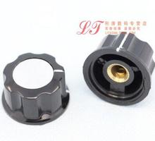 5pcs A01 Bakelite Knob, 20MMxH11.5MM Mounting Hole 6MM, For Rotary potentiometer & Encoder & Rotary Switch(China)