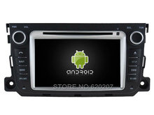 Android 5.1.1 CAR Audio DVD player gps FOR MERCEDES-BENZ SMART 2010-2014 Multimedia navigation head device unit receiver(China)