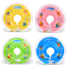 Hot Sale Swiming Baby Accessories Swim Neck Ting Baby Inflatable Tube Ring Safety Infant Neck Float Circle Baby Bathing(China)