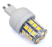 handheld 220-240V G9 27 LED 5050 SMD 5W Powered Bulb Lamp products Chip Warm White / Cool white free shipping