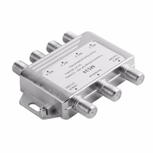 3 Input 4 Output MS34 Satellite Multiswitch Splitter 3x4 Low Consumption FTA TV LNB Satellite Switch For DVB-S2 For DVB-T2