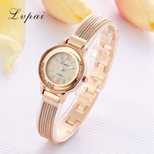 Lvpai Brand Casual Luxury Rose Gold Watches Women Female Fashion Crystal Quartz Wristwatches Gift Watch For Women New Watch