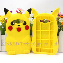 3D Cartoon Pikachue Case Samsung Galaxy S5 S6 Edge S7 A5 A7 J1 J3 J5 J7 2016 Grand Prime Silicone Back Cover Phone Shell p25 - xinkai workshop Store store