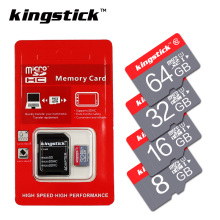 Kingstick Memory Card Class10 32GB 64GB 16GB 8GB micro sd card C6 4GB UHS-1 Memory flash card for Smartphone/Tablet