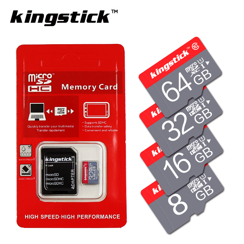 Kingstick Memory Card Class10 32GB 64GB 16GB 8GB micro sd card C6 4GB UHS-1 Memory flash card for Smartphone/Tablet(China (Mainland))