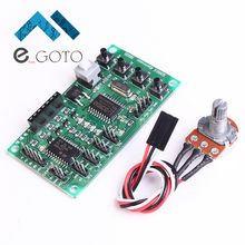 6-30V Micro Programmable Driver Control Board Module Stepper Motor Drive Plate With Wire Smart Robot Car Controller DIY
