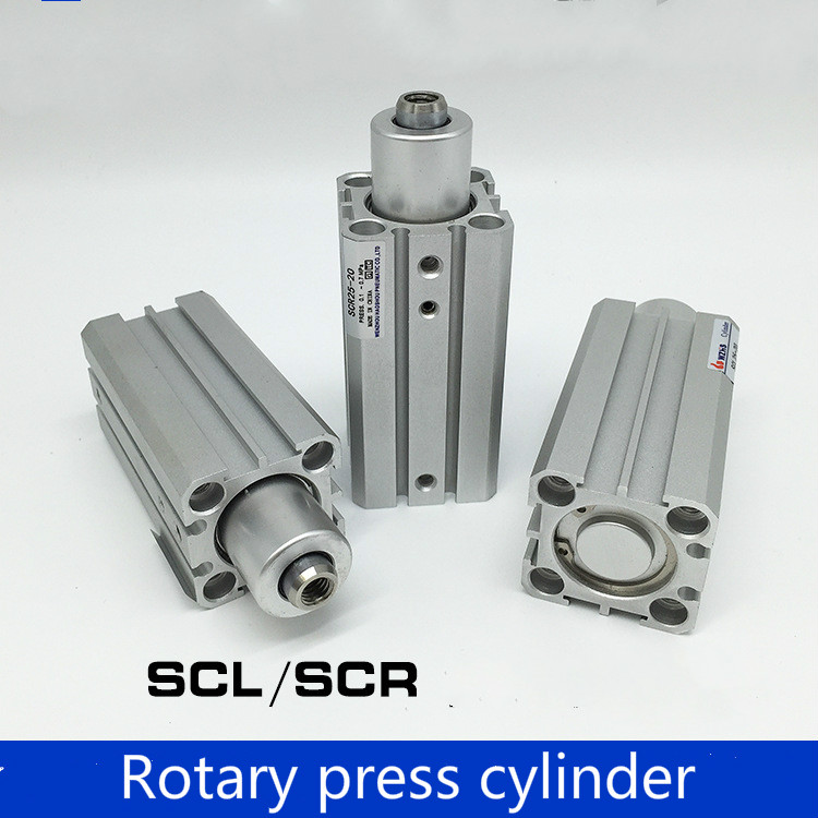 Gas vertical type SCR32 SCL16-10/20/30/50 rotary clamping and clamping lower pressure cylinder rotating cylinder<br>