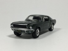 GREENLIGHT 1:64 1968 Ford Mustang GT Bullitt Diecas car model