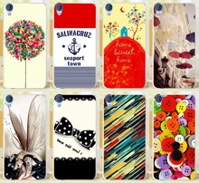 Cell Phone Cases For HTC Desire 820 Covers D820U D820 D820T 820G 820G+ Dual Sim 820S Shell Seaport Town Skin Bags Housing