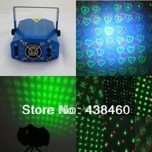 Mini 4in1 Laser Projector Stage Lighting DJ Disco Party Bar Nightclub lights 04A